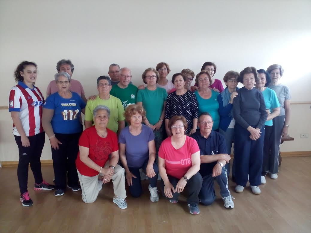 Gimnasia mayores - mañanas - Programa tu salud en marcha