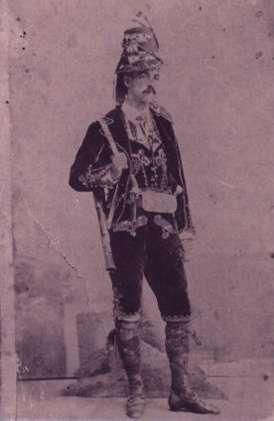106.-Santiago-Sanchez--Tio-Morita--durante-el-servicio-militar.-Hacia-1861.-Procedencia-Isabel-de-la-Fue