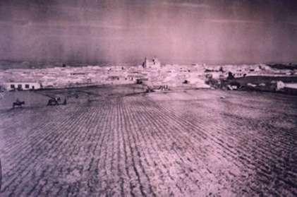 113.-Vista-desde-la-granja-del-Tio-Eugenio-(actual-calle-Huerta-y-calle-San-Sebastian).-Pr.-Felipe-Pleite