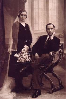 133.-Boda-de-Carmen-Garcia-Maroto-y-Eugenio-Punal.-Ano-1929.-Procedencia-Isabel-Coque