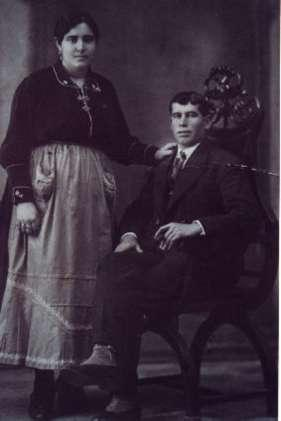 135.-Boda-de-Patrocinio-Perez-Bargueno-y-Baltasar-Sanchez-Pantoja.-Ano-1922.-Proced.-Ana-M-Sanchez-Silv