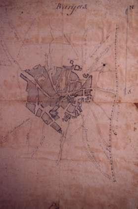 144.-Plano-del-casco-urbano-de-Bargas.-Principios-siglo-XX.-Procedencia-Jose-Luis-Tellez-de-Cepeda