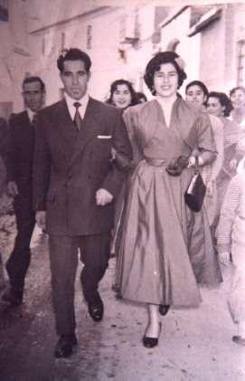 151.-Domingo-Sanchez-Perez,-en-el-dia-de-su-boda,-junto-a-su-hermana-Pepa.-Procedencia-Josefa-Sanchez