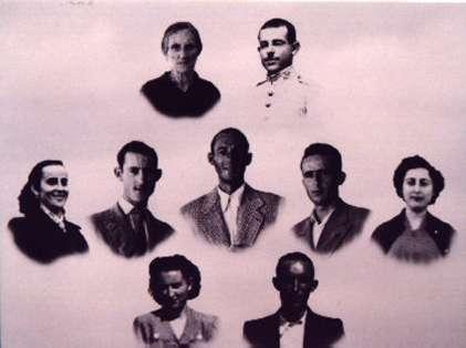169.--Familia-de-Celestino-Alonso-y-Fernanda-Bargueno.--Procedencia-Isabel-Alonso