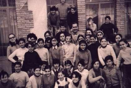 18.-Grupo-escolar-con-el-maestro-Don-Pepe-Luis-Tellez.-Ano-1971.-Procedencia-Angelines-Garcia-del-Cerro