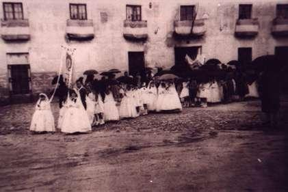 184.-Procesion-del-Corpus.-Decada-de-1960.-Procedencia-Raul-del-Cerro