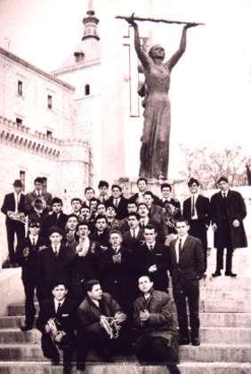 27.-Quntos-en-el-Alcazar-de-Toledo.-Ano-1966.-Procedencia-Manuel-Mª-Perez-Lazaro-Carrasco