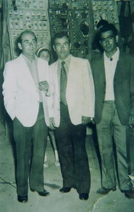 270.-Eusebio-y-Manuel-Alhambra-con-Antonio-Garcia-Lavin-en-las-fiestas.-Ano-1956.-Pr.-Eusebio-Alh