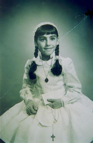 278.-Primera-Comunion-de-Juana-Alhambra-Ruiz.-Hacia-1960.-Procedencia-Juana-Alhambra