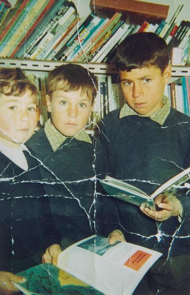 289.-Los-hermanos-Anastasio,-Juan-Manuel-y-Fabiola-Cerdeno-en-el-colegio.-Ano-1968.-Pr.-Manuela-Garcia-G