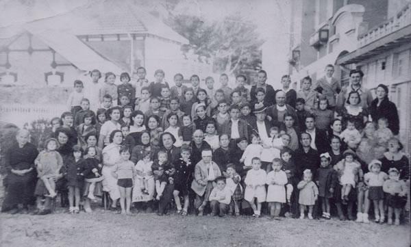 312.-Familia-de-Hilaria-Sanchez-y-Ciriaco-Pleite---Los-Canarios--con-exiliados-en-Francia.-Ano-1938.-Pr.