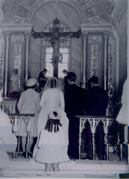 321.-Boda-de-Maria-Gutierrez-y-Julian-Bargueno-en-la-Ermita.-Ano-1960.-Proced.-Maria-Grrez.-y-Julian-Bargueno