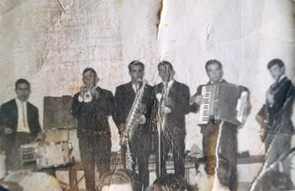 40.-Grupo-musical-The-Bleus.-Hacia-1965.-Procedencia-Ana-Isabel-Garcia-del-Cerro