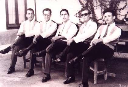 45.-Grupo-musical-The-Bleus.-Hacia-1965.-Procedencia-Ana-Isabel-Garcia-del-Cerro