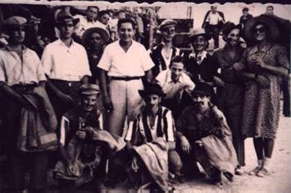 80.-Charanga-de-mozos.-Decada-de-1950.-Procedencia-Santiago-Alguacil
