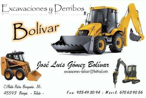 Excavaciones y Derribos José Luis Gómez Bolívar