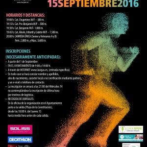 El Cross Popular de Bargas bate record con medio millar de atletas en su 38ª edición