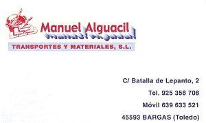 Transportes y Materiales Manuel Alguacil