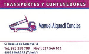 Transportes y Contenedores Manuel Alguacil Canales