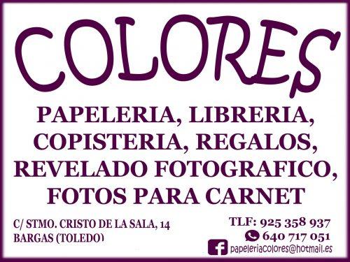 Papelería Colores