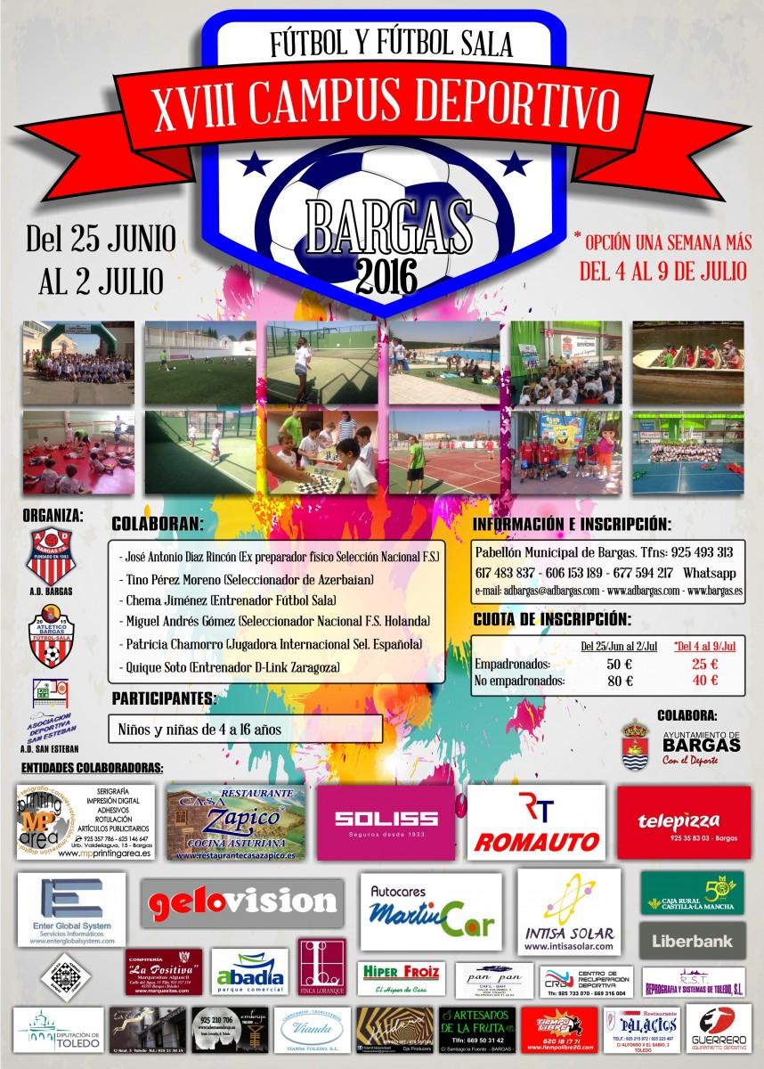 XVIII Campus Deportivo – Fútbol y Fútbol Sala