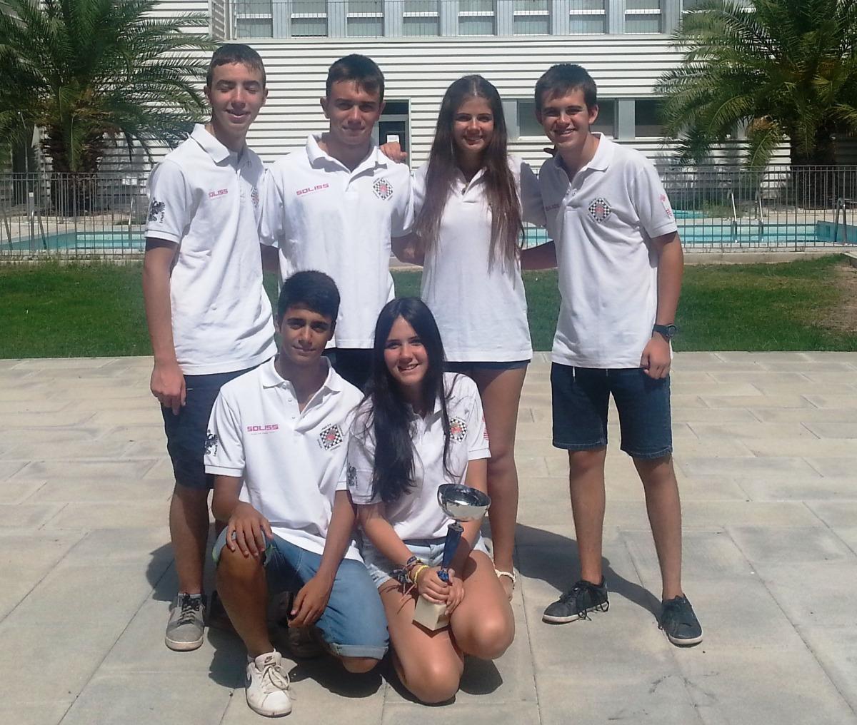 El Club de Ajedrez Bargas-Soliss revalida el título regional por equipos sub-16