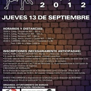 XXXIV Cross Popular de Bargas 2012