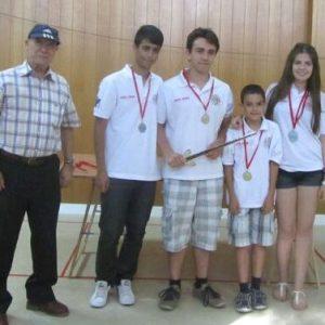 El Club de Ajedrez Bargas-Soliss repite triunfo y pleno en el Provincial de clubes sub-16