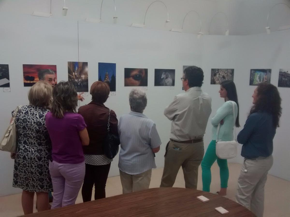 Inauguración de la EXPOSICIÓN DE FOTOGRAFÍA de Irene Fernández Romero