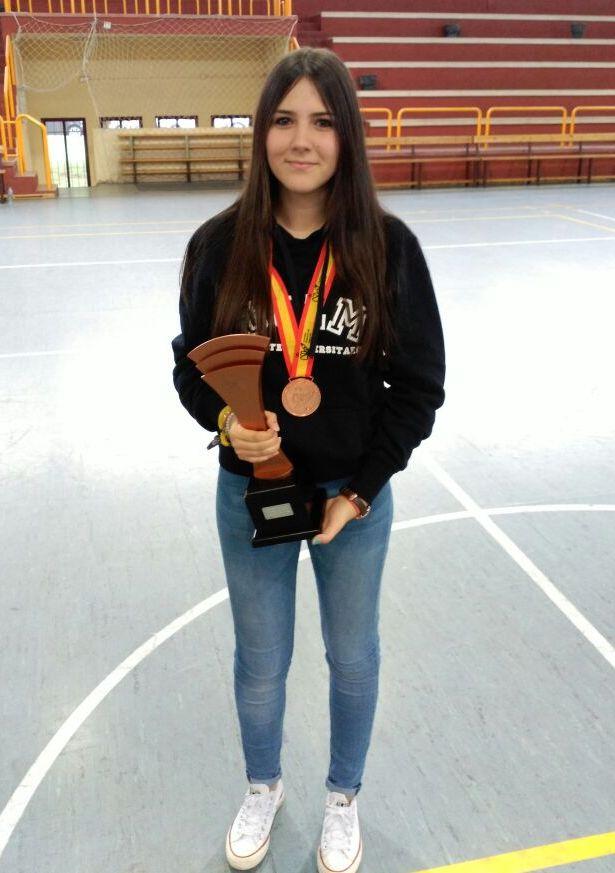 La bargueña María Alonso Vara, bronce con la UCLM en el Campeonato de España Universitario de Ajedrez