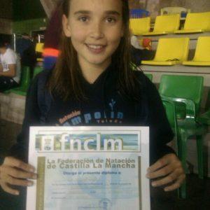 Mejor marca regional de nuestra nadadora bargueña Miriam de Dios Lasa