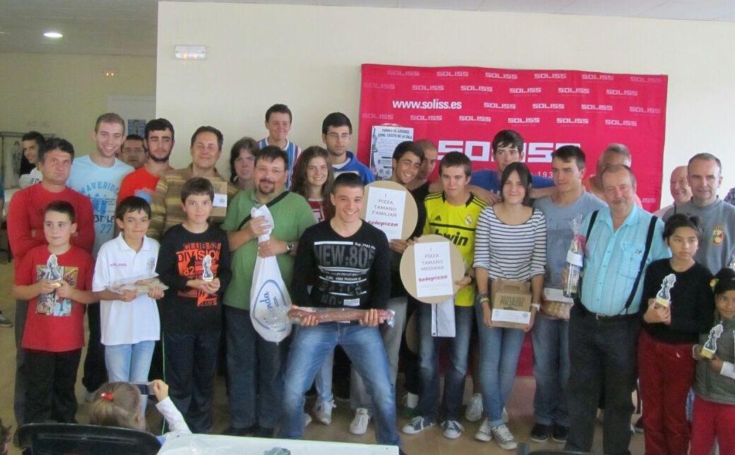 Bargas celebra el torneo de ajedrez más multitudinario.