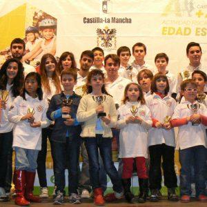 La nueva generación de la Escuela Municipal de ajedrez mantiene los triunfos en los Provinciales