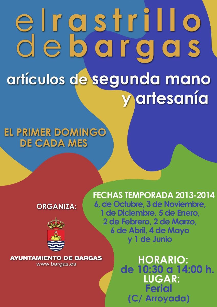 Como cada primer domingo de mes, EL RASTRILLO DE BARGAS abre sus puertas