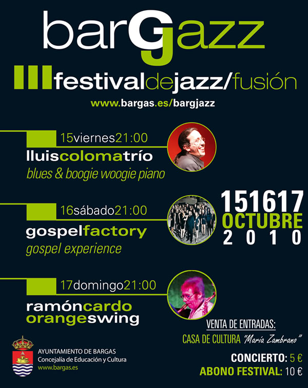 BargJazz – III Festival de Jazz/fusión – 2010