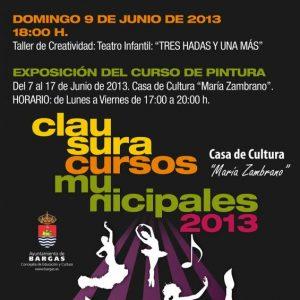 Clausura Cursos Municipales 2013