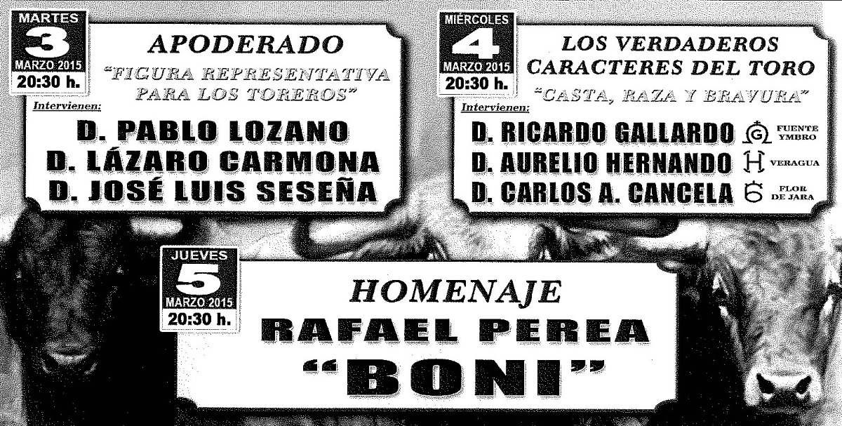 DAN COMIENZO LAS XIII JORNADAS TAURINAS en BARGAS