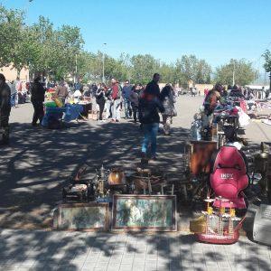 Imágenes del Rastrillo celebrado el domingo 1 de Mayo
