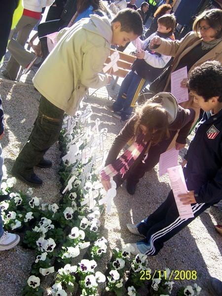 Día Internacional contra la violencia de género 2008