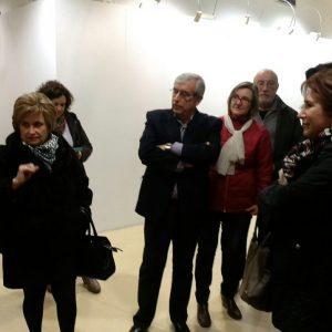 Inaugurada la exposición de pintura de Mª del Carmen Mérida Alguacil