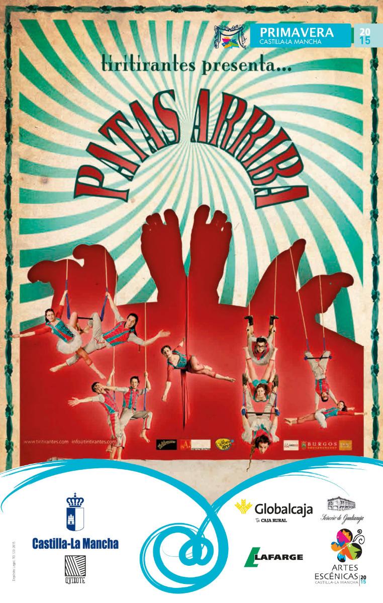 """SUSPENDIDO el espectáculo de Teatro-Circo: Patas Arriba"""""""""""