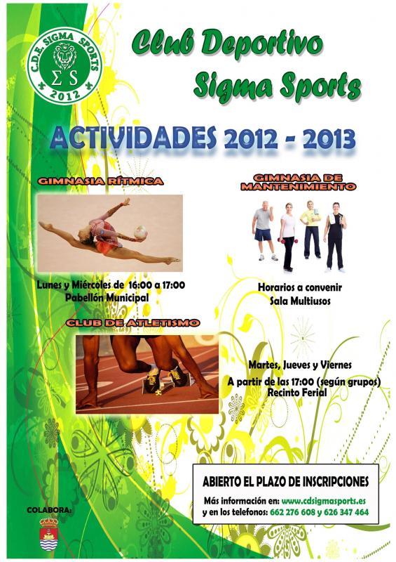 Actividades deportivas 2012-13