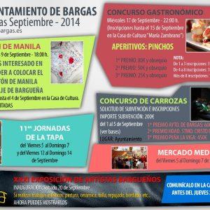 Actividades Fiestas 2014