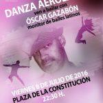 Danza Aerolatina con Óscar Gazabón