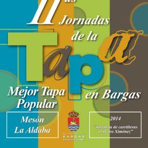 GANADORES DE LAS XI JORNADAS DE LA TAPA – 2014