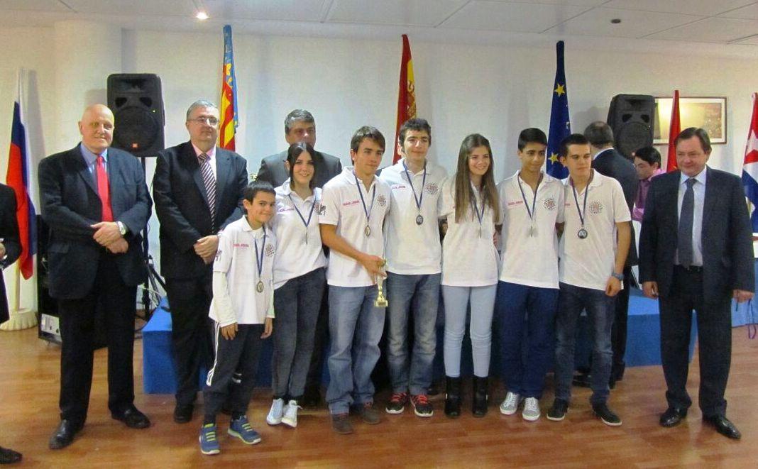 Los sub-16 del Club de Ajedrez Bargas-Soliss logran su segundo bronce nacional en tres años