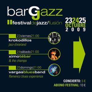 BargJazz – II Festival de Jazz/fusión – 2009