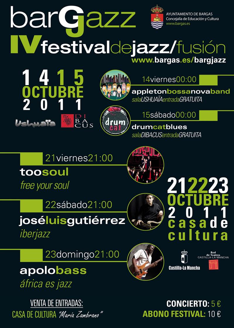 BargJazz – IV Festival de Jazz/fusión – 2011