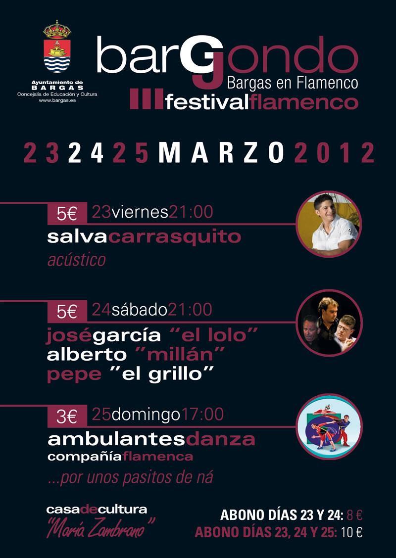 III Festival de Flamenco BARGJONDO
