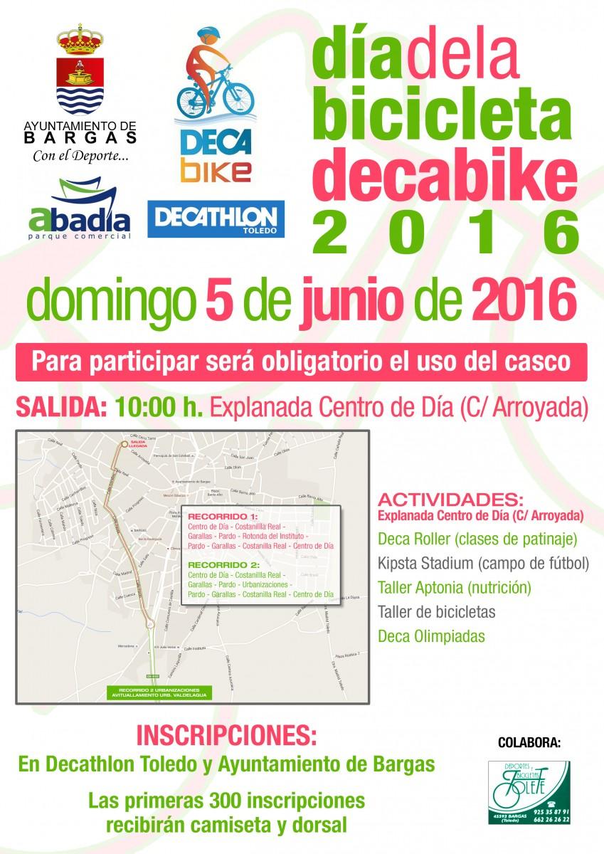 Día de la Bicicleta – Decabike 2016